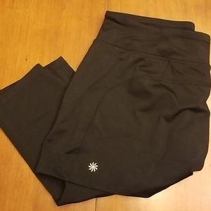 NWOT Athleta crop pants w/skirt